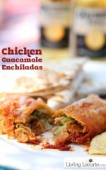 Chicken-guacamole-Enchiladas-Recipe