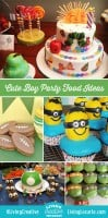 Cute food boy birthday party ideas