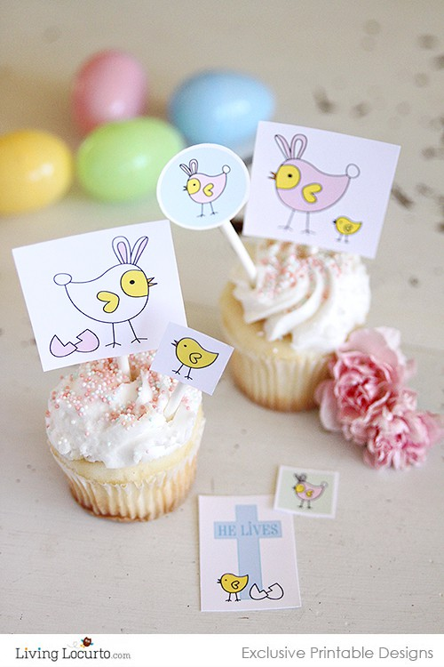 Easter Card and DIY Party Printables