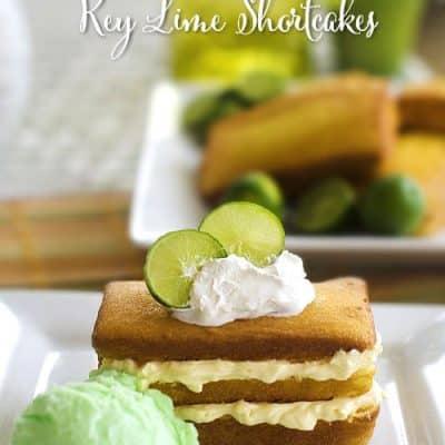 Key Lime Shortcake