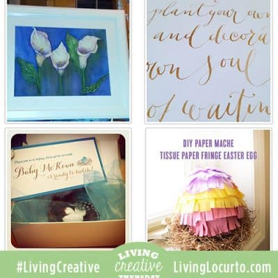 Living Creative Thursday is Back!