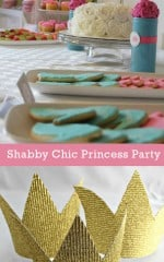 Shabby Chic Princess birthday Party