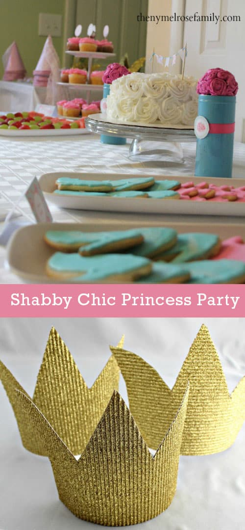 Cute Shabby Chic Princess Birthday Party Ideas!