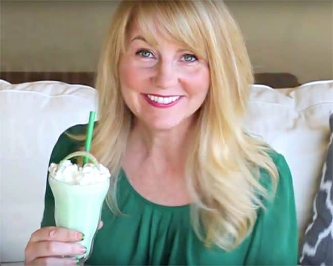 How to make a copycat McDonald's Shamrock Shake for St. Patrick's Day by Amy Locurto.
