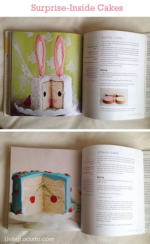 Surprise-Inside Cakes Cookbook