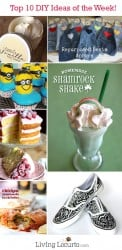 Top 10 DIY Crafts & Recipe Ideas of the Week