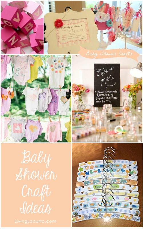 7 baby shower craft ideas for party guests homemade gifts