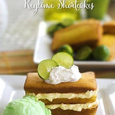 key lime shortcake dessert recipe