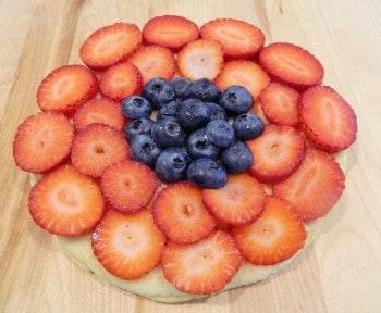 Captain America Shield Fruit Pancakes Recipe at LivingLocurto.com