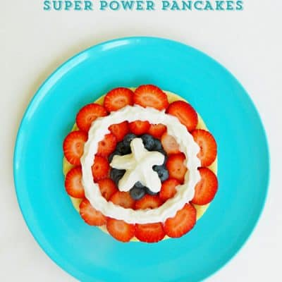 Captain America Pancakes Recipe