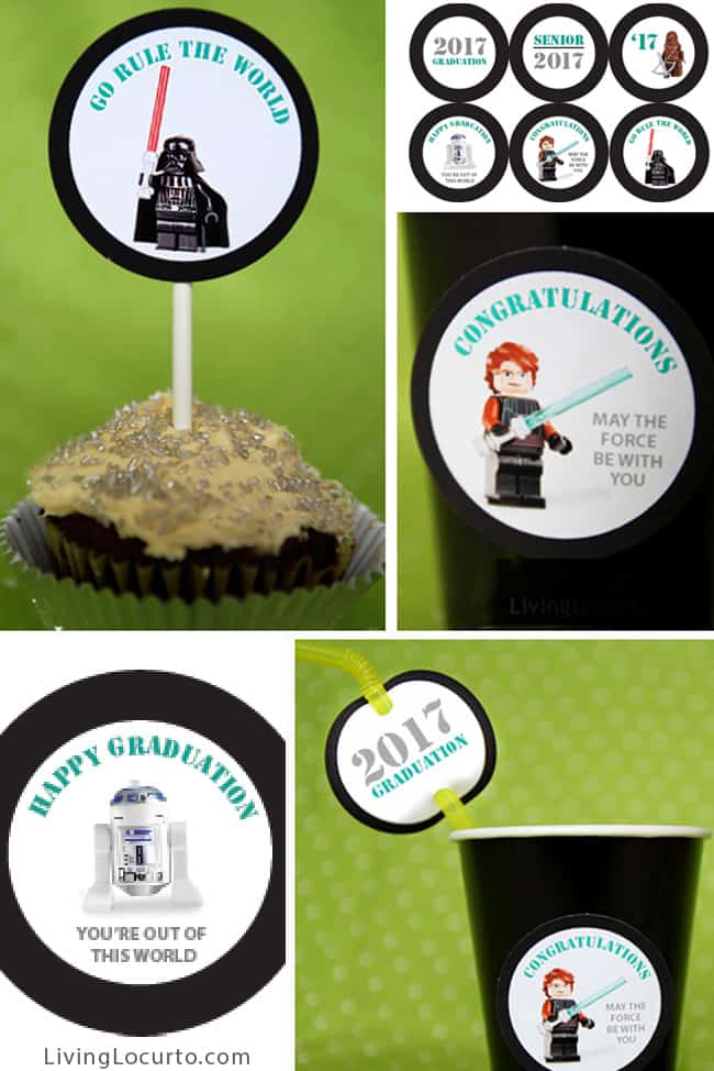 Star Wars Graduation Party Ideas | Printable Download