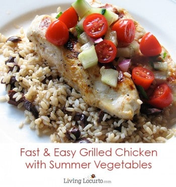 Fast and Easy Grilled Chicken