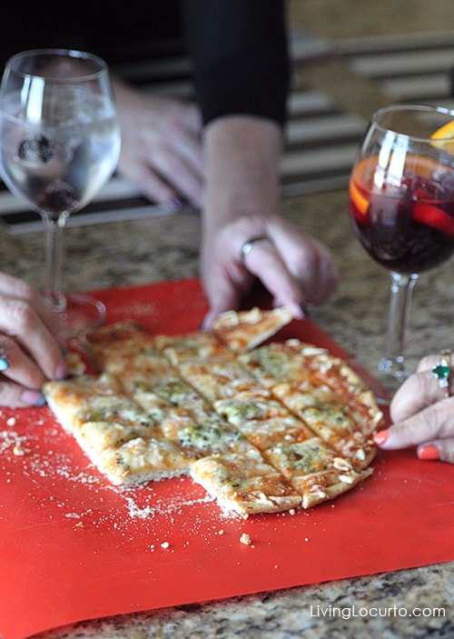 Yummy Ristorante Pizza. Happy Hour Party Ideas and Free Printables! LivingLocurto.com