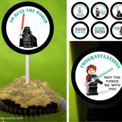 Star Wars Graduation Party Printable Tags