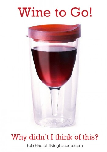 Wine to go cup Vino2Go Tumbler - Party Idea