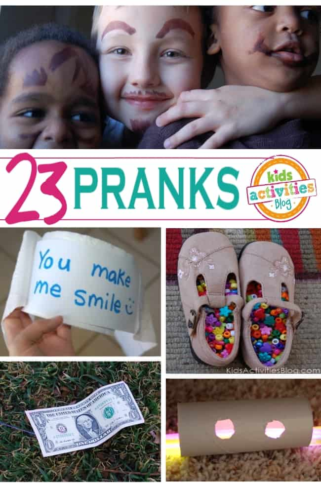 Funny pranks and april fools jokes for Fun blog ideas