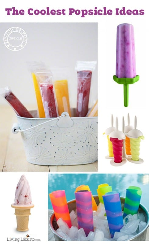 The Coolest Popsicle Mold Ideas! LivingLocurto.com