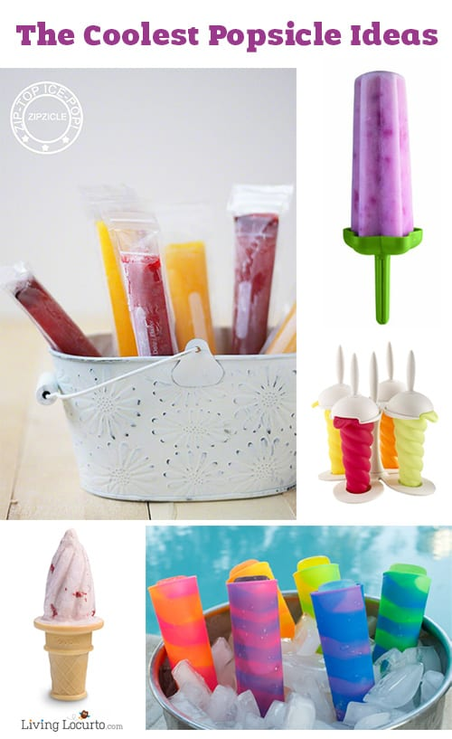 The Coolest Popsicle Mold Ideas