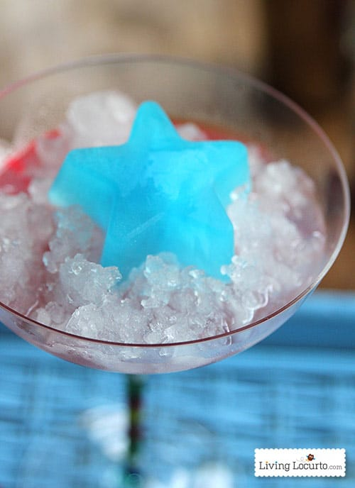 Easy Red White and Blue Cocktail