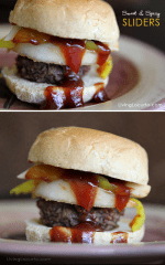 Sweet and spicy burger recipe