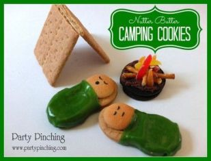 Nutter Butter Camping Cookies - 15 Easy Summer Cookie Recipes