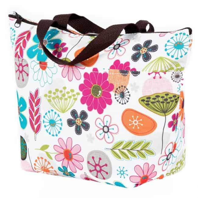 Cute cooler tote bag - perfect for a teacher gift!