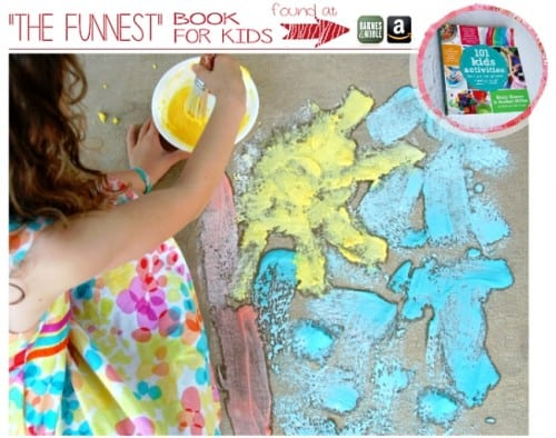 Fizzing Paint Kids Craft Idea