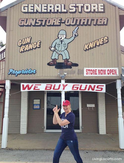 Gun Shop  First Monday Trade Days flea market in Canton, Texas