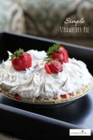strawberry pie dessert recipe