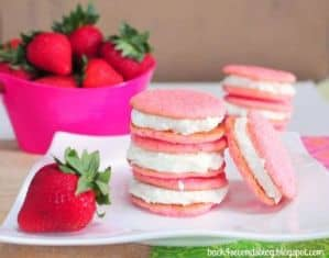 Strawberry Lemonade Cookies by Back For Seconds - - 15 Easy Summer Cookie Recipes