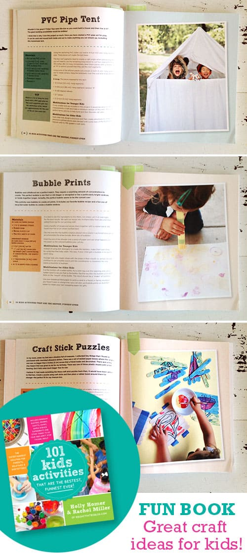 Love this book! Great ideas for all ages of kids. 101 Kids Activities! LivingLocurto.com
