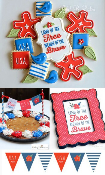 4th of July Party Printable Ideas