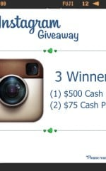 Living Locurto Cash Giveaway