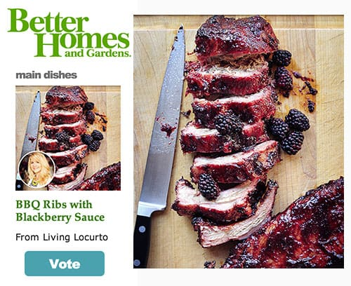 BBQ Ribs - Better Homes and Gardens - Living Locurto