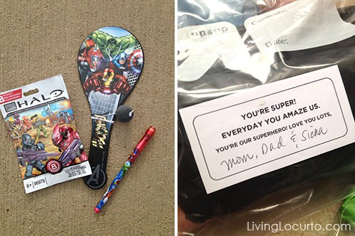 Summer Camp Care Package Ideas with Free Printables by Livinglocurto.com
