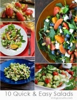 10 Easy Salad Recipes Perfect for Pizza Night