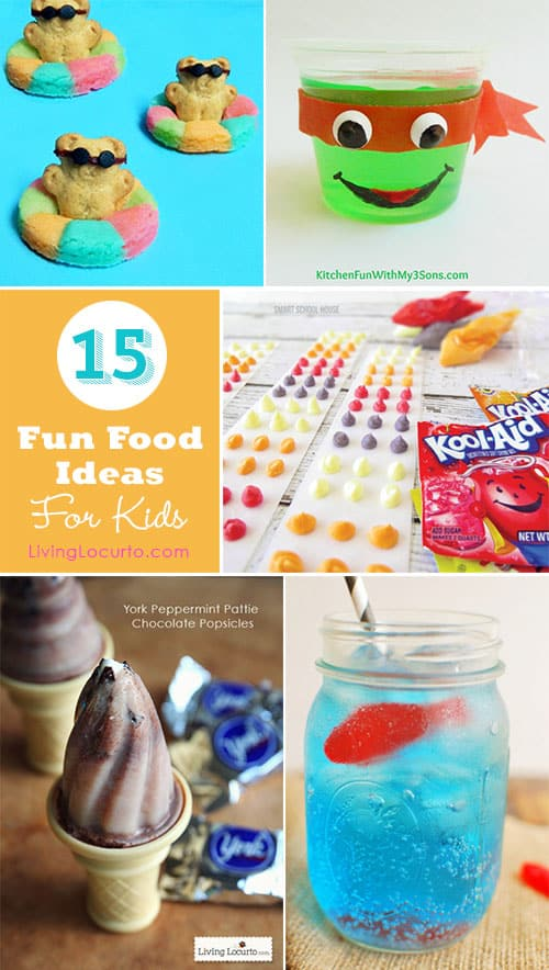 15 summer fun food ideas for kids for Cool food ideas for kids