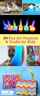 30 Easy Art Projects Crafts For Kids Summer Kids Activities