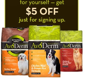 AvoDerm Pet Food coupon