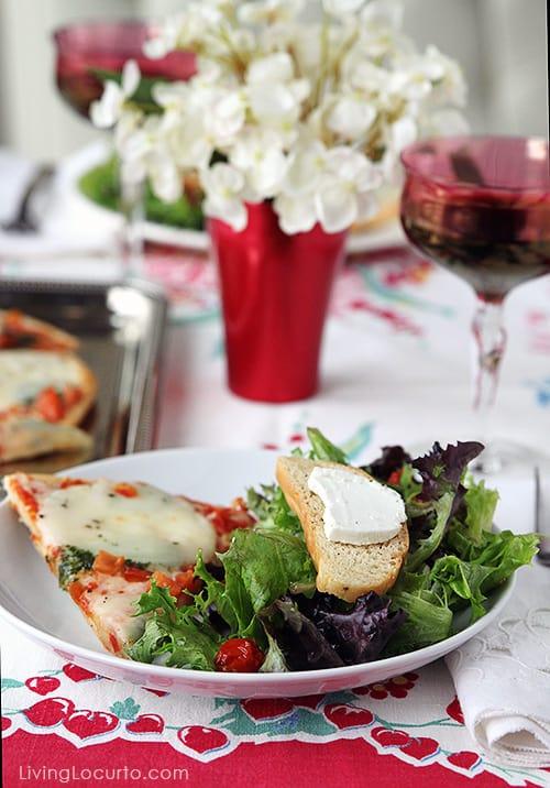 5 Simple Ideas for a Stress Free Dinner Party. LivingLocurto.com