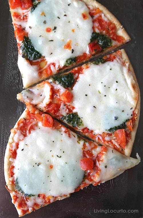 Mozzeralla Ristorante Pizza - 5 Simple Ideas for a Stress Free Dinner Party. LivingLocurto.com