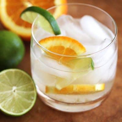 Skinny Aloe Cocktail