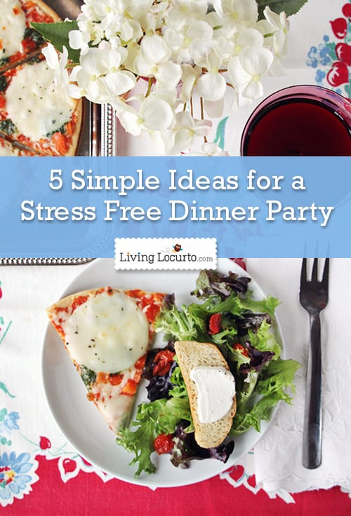 Wonderful Ladies Dinner Party Ideas Part - 7: 5 Simple Ideas For A Stress Free Dinner Party. Perfect For A Girls Night In