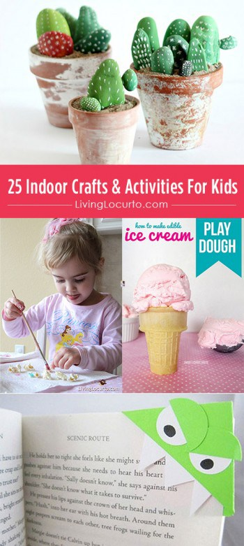 25 Indoor Crafts & Activities For Kids