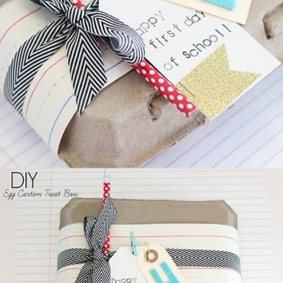 Teacher Gift Wrapping Idea