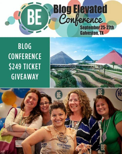 Blog Elevated Conference Ticket Giveaway!