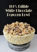 Edible Popcorn Bowl