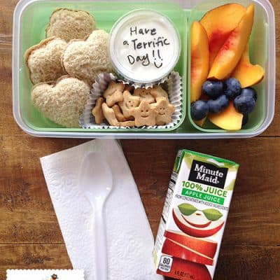 Free Printable School Lunch Box Planner
