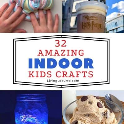 32 Indoor Crafts For Kids