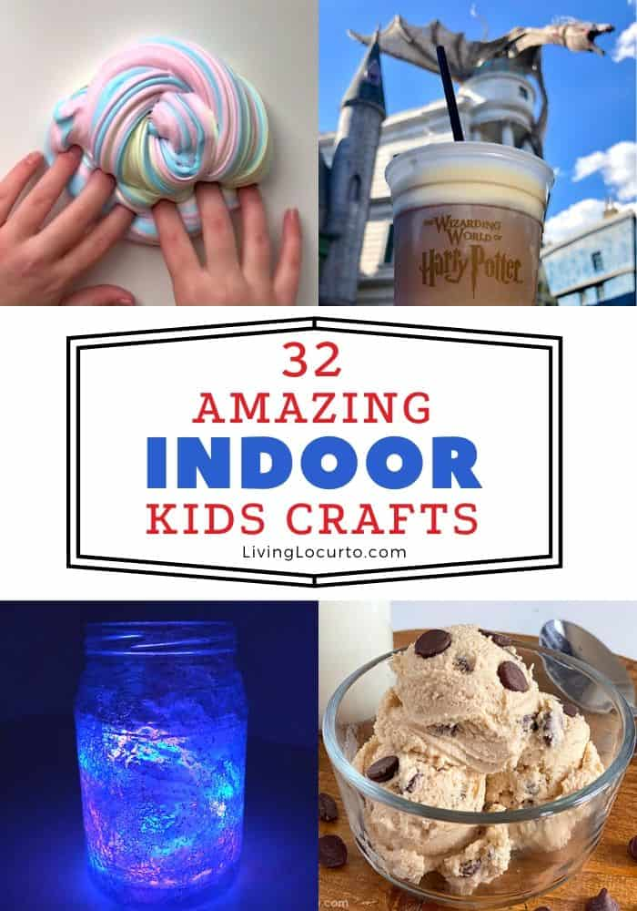 Indoor Kids Crafts When Bored
